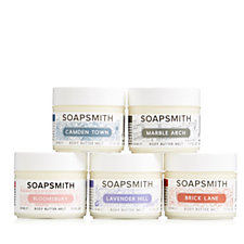 Soapsmith 5 Piece Mini Body Butter Melts Gift Collection