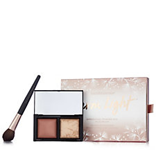 Bareminerals Warm Light Dimensional Powder Duo with Brush