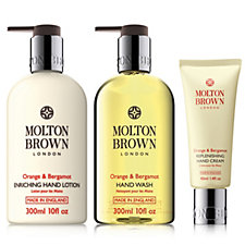 215404 - Molton Brown Orange Bergamot 3 Piece Hand Trio