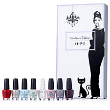 OPI 8 Piece Breakfast at Tiffanys Nail Collection