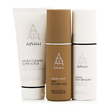 Alpha-H 3 Piece Exfoliating Collection