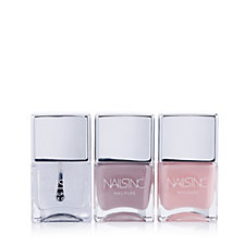 Nails Inc 3 Piece Pure Nudes Nailcare Collection