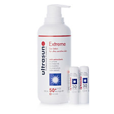 218905 - Ultrasun 3 Piece Extreme SPF50+ Supersize & Lip Duo Collection