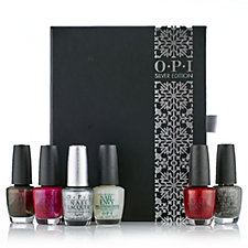 OPI 6 Piece Metallic Collection