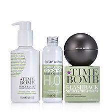 Lulu's Time Bomb 3 Piece Nightly Treatment Collection