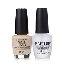 OPI 2 Piece Nude Nail Envy & RapiDry Top Coat