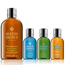 Molton Brown Mens 4 Piece Body Collection