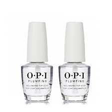 OPI Plumping Top Coat Duo