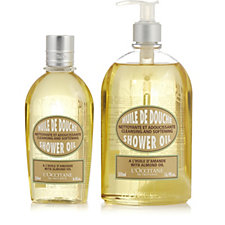 L'Occitane Almond Shower Oil 500ml & 250ml