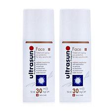 Ultrasun Sun Protection Tinted Face SPF 30 50ml Duo