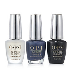 OPI 3 Piece Infinite Shine Less Is Norse Collection
