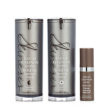 235808 - Sarah Chapman 3 Piece Morning & Overnight Facial Collection