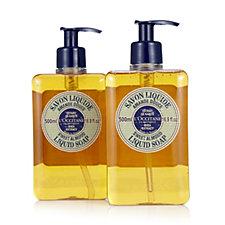 L'Occitane Sweet Almond 500ml Liquid Soap Duo