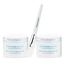 Flora Mare Beautiful Radiance Intensive Mask 100ml Duo with Brush