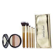 Judith Williams Hello Sunshine Face Powder 18g & 5 My Make Up Brushes