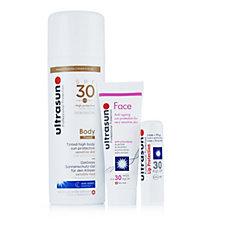 230709 - Ultrasun Sun Protection 3 Piece Beautiful Skin Collection