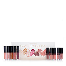 Bareminerals 10 Piece Give Em Gloss Lip Collection