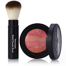 Laura Geller Baked Brulee Blush with Retractable Powder Brush