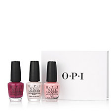 OPI 3 Piece New Orleans Nailcare Lacquer Collection