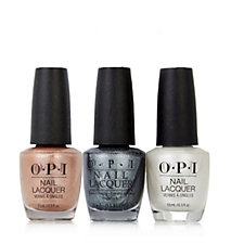 OPI 3 Piece Stunning Shimmers Collection