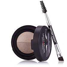 Laura Geller Baked Brow Tones with Double-Ended Brow Brush