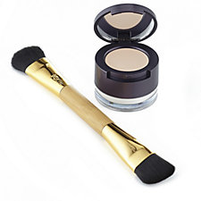 tarte Amazonian Colored Clay Concealer & Finishing Powder with Brush