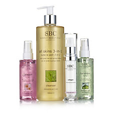 SBC 4 Piece Refresh Skincare Collection