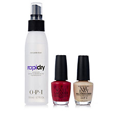OPI 3 Piece Nailed It Collection