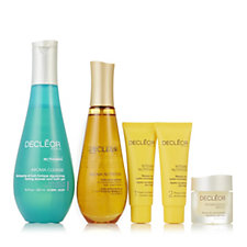 Decleor 4 Piece Skin, Body, Mind Glow Collection