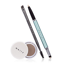 Mally The Perfect Brow Dream Brow with Double ended Brush & Light Wand