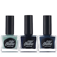 Little Ondine 3 Piece True Blue Nail Polish