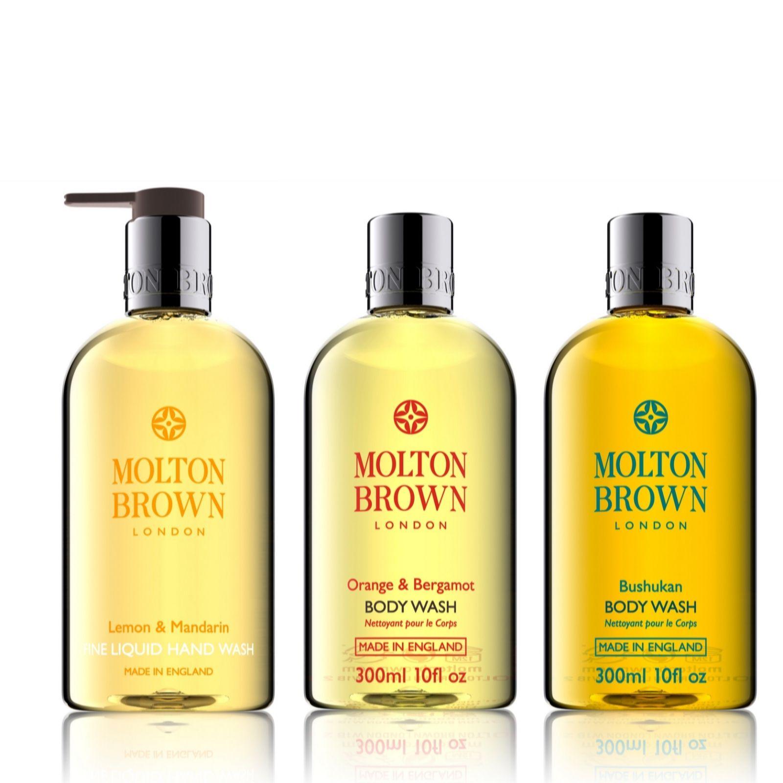 molton brown citrus 3 piece hand body collection qvc uk