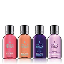 Molton Brown 4 Piece Body Wash Travel Collection