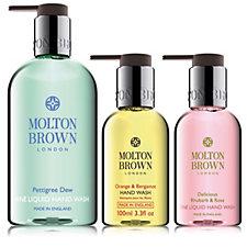 Molton Brown 3 Piece Handwash Collection