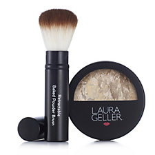 Laura Geller Balance-n-Glow Baked Foundation 8g & Brush