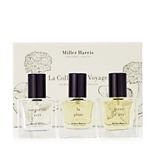 Miller Harris 3 Piece Voyage Eau de Parfum Collection 14ml