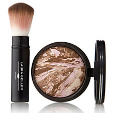 Laura Geller Bronze-n-Brighten Baked Bronzer 9g & Brush