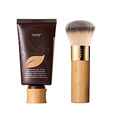 Tarte Amazonian Clay Full Coverage Foundation with Brush
