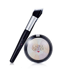 Laura Geller Filter Finish Radiance Setting Powder with Brush
