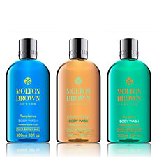 Molton Brown Womens 300ml 3 Piece Body Wash Collection