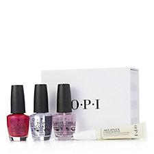 OPI 4 Piece Colour Nailcare Collection
