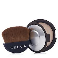 Becca Shimmering Skin Perfector Pressed & Half Moon Brush
