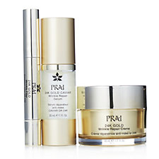 PRAI 3 Piece Golden Wrinkle Repair Collection