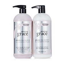 Philosophy 2 Piece Supersize Amazing Grace Haircare Collection
