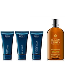 Molton Brown Travel Grooming Essentials 4 Piece Mens Collection