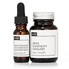NIOD Neck Catalyst 50ml and Fractionated Eye Contour Concentrate 15ml
