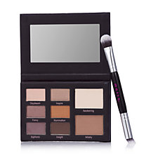 Mally Muted Muse Eyeshadow Palette with Double Ended Brush