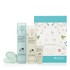 Liz Earle 2 Piece The Glow Getters Cleanse & Polish & Exfoliator