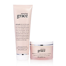 Philosophy Amazing Grace Indulgent Shimmering Body Collection
