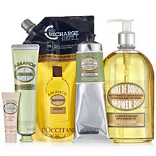 L'Occitane 5 Piece Almond Bath & Body Indulgence Collection